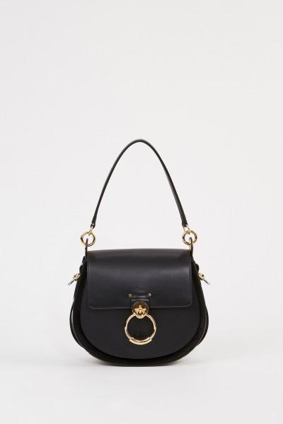 Chloé Shoulder Bag 'Tess Camera Large' Black