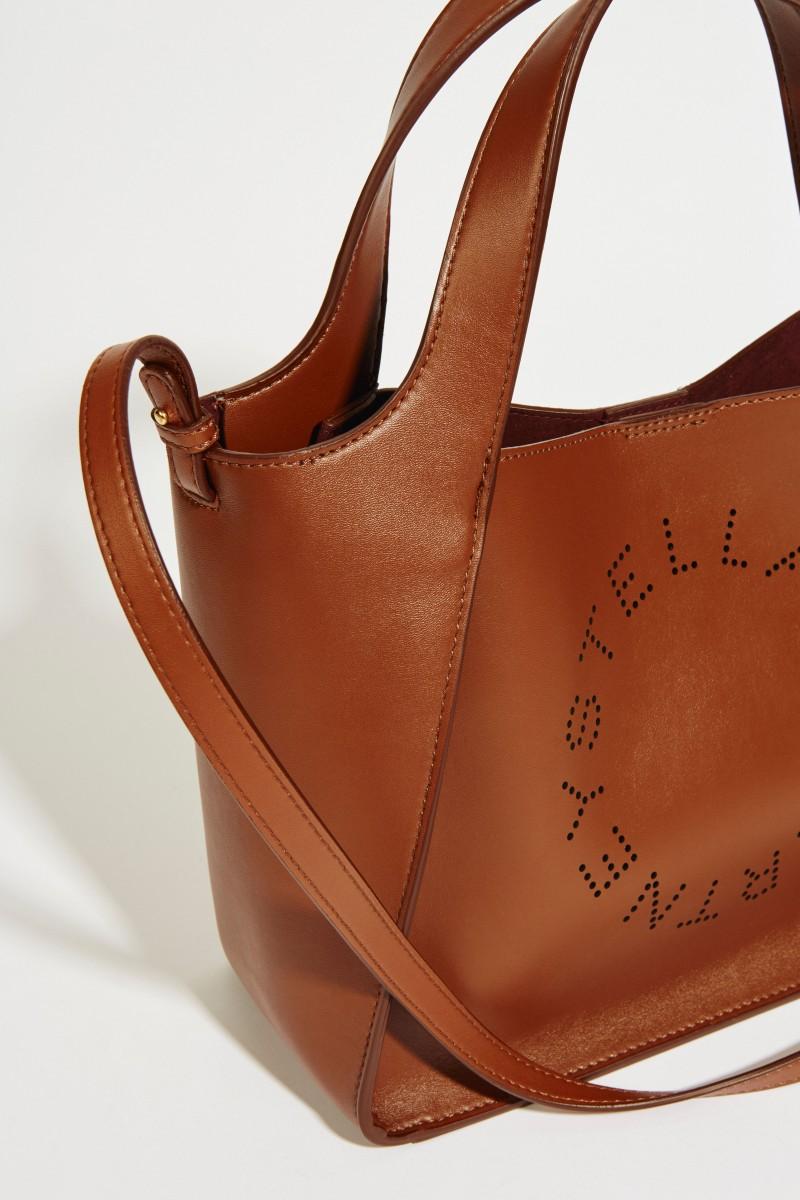 Shopper mit Stella-Logo 'Crossbody Logo Bag' Cinnamon