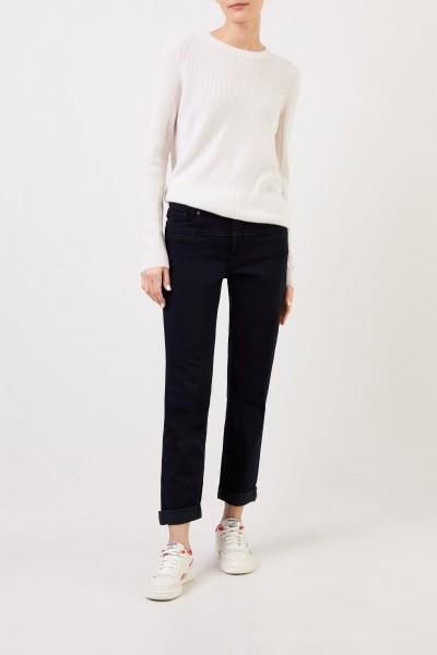 Cambio Klassische Jeans 'Pearlie' Dunkelblau