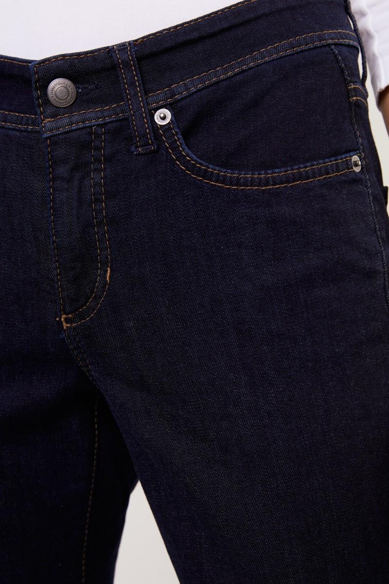 Cambio Jeans 'Parla' mit Reißverschlüssen Blau