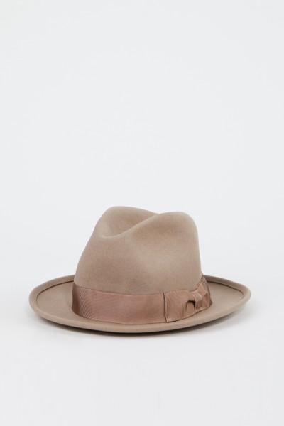 Ami Klassischer Woll-Hut Beige