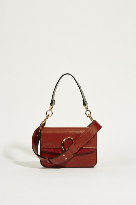 Tasche 'Chloé C Small' Sepia Brown