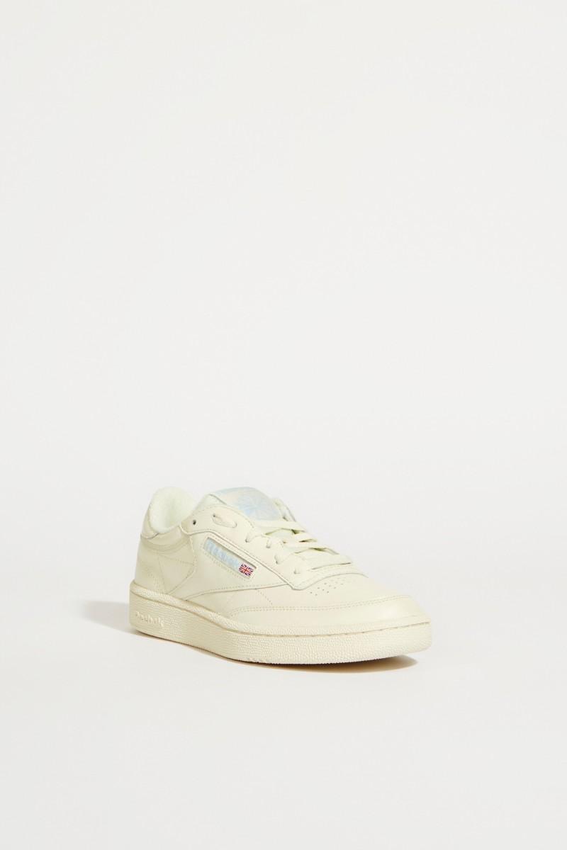 Sneaker 'Club C 85' Grau/Hellblau