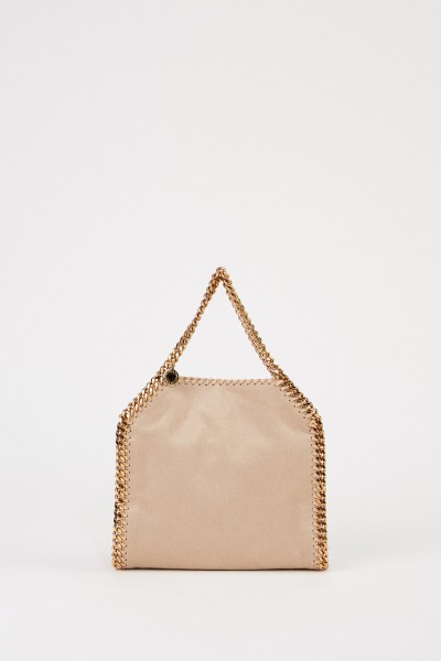 Shoulder Bag 'Mini Tote Falabella' Butter Crea