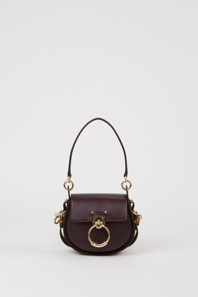 Shoulder Bag 'Tess Small' Black Raisin