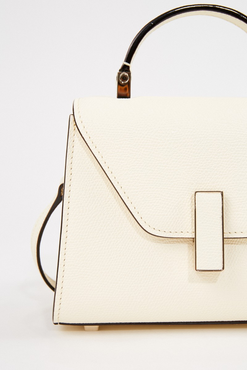 Valextra Mini Bag 'Iside Micro' Cream