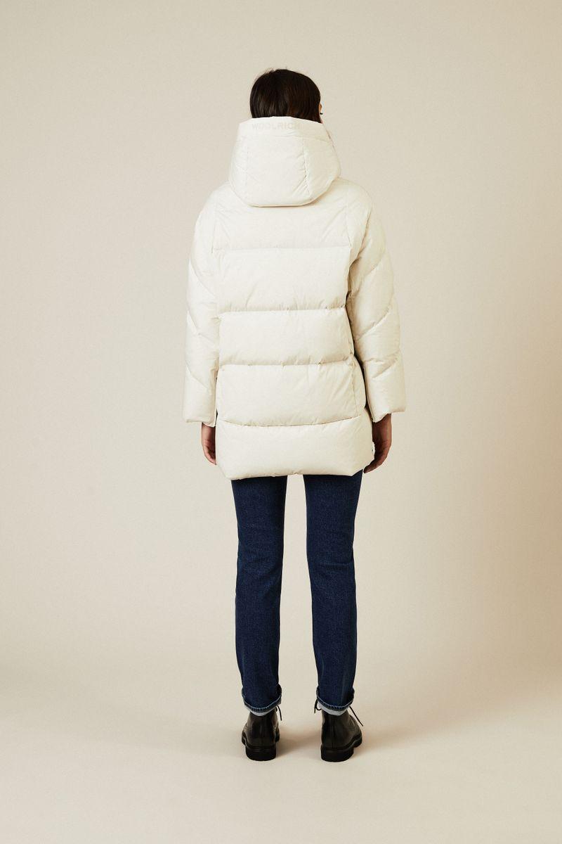Oversize Daunen-Jacke 'Aurora Puffy' Weiß