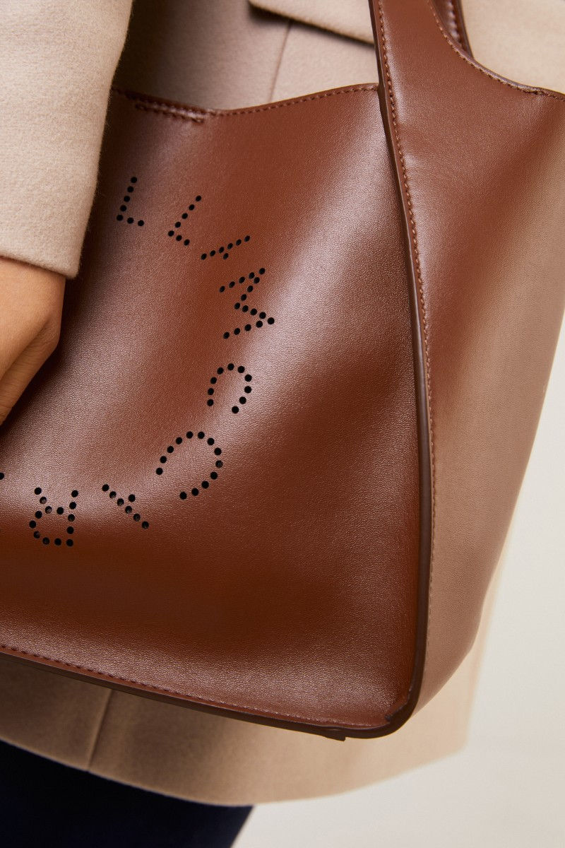 Stella McCartney Handtasche 'Cross Body Bag' Braun