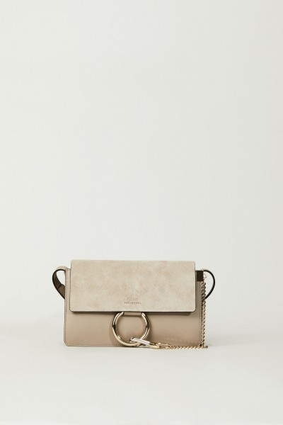 Schultertasche 'Faye Small' Motty Grey