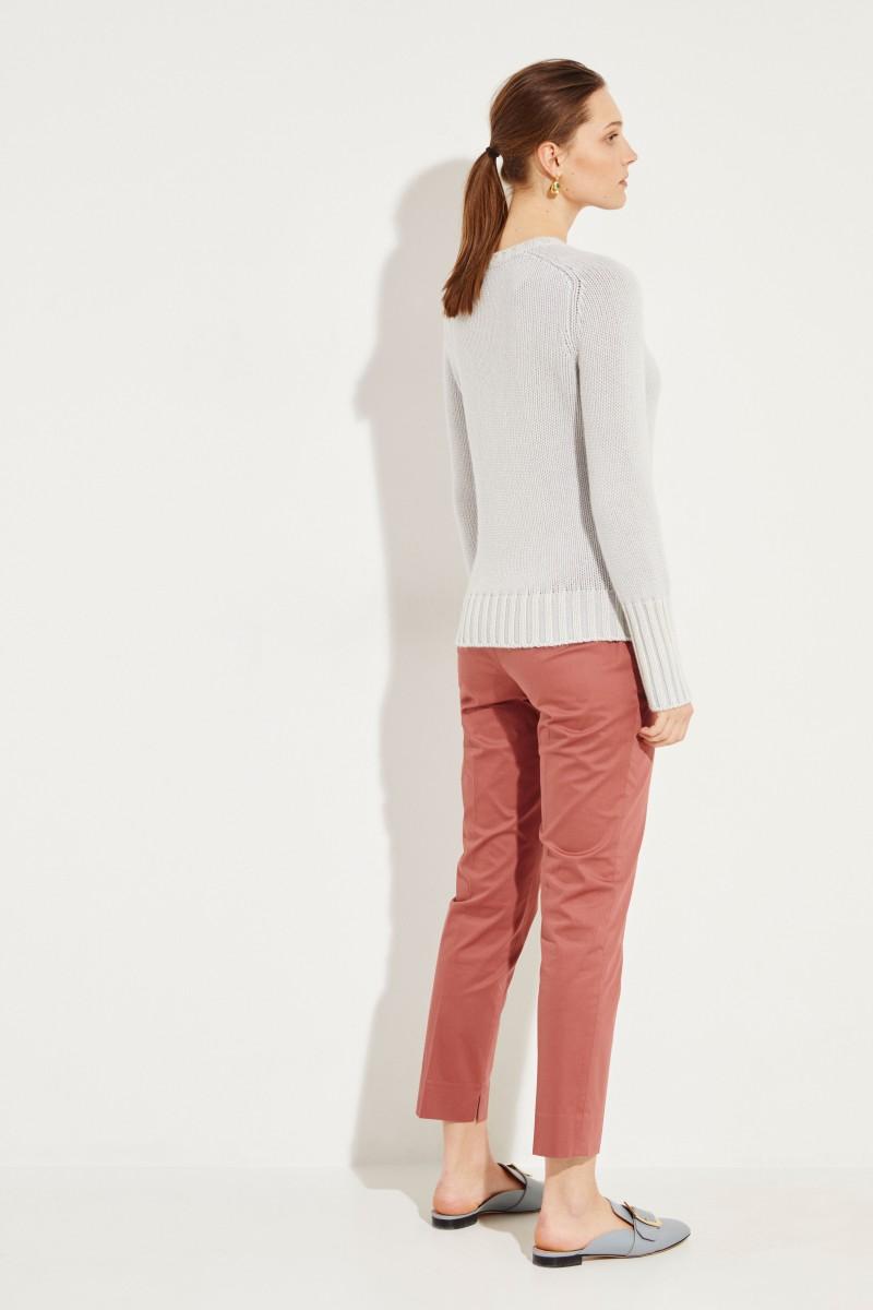 Cashmere-Pullover 'Mariella' Grau