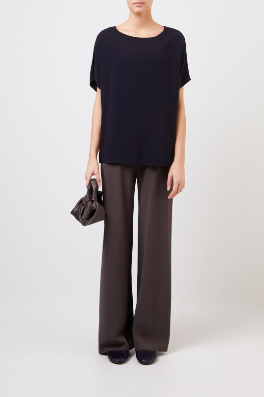 The Row Oversize-Top ''Lylia' Dunkelblau