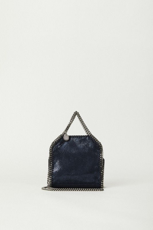 Mini-Tasche 'Tiny Bella Shiny' Blau