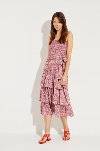 Kleid 'Wild Pansy' mit floralem Print Multi