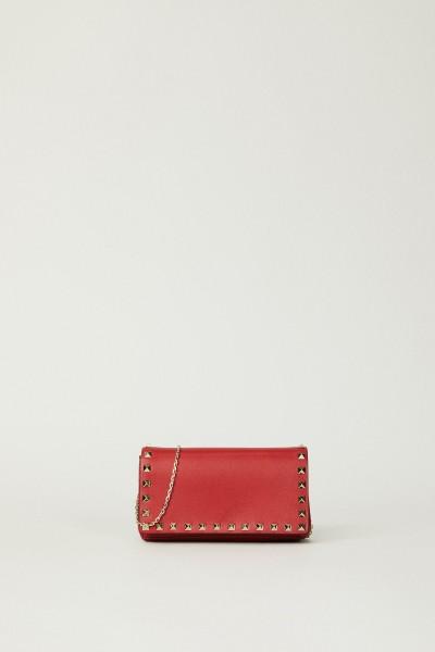 Kleine Umhängetasche 'Wallet on Chain' Rot