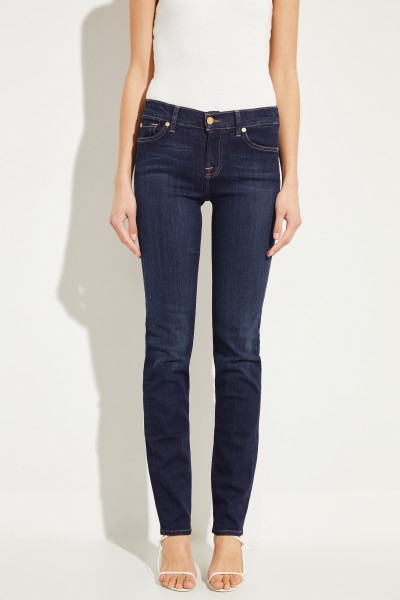 7 for all mankind Mid Rise Jeans 'Roxanne' Indigo