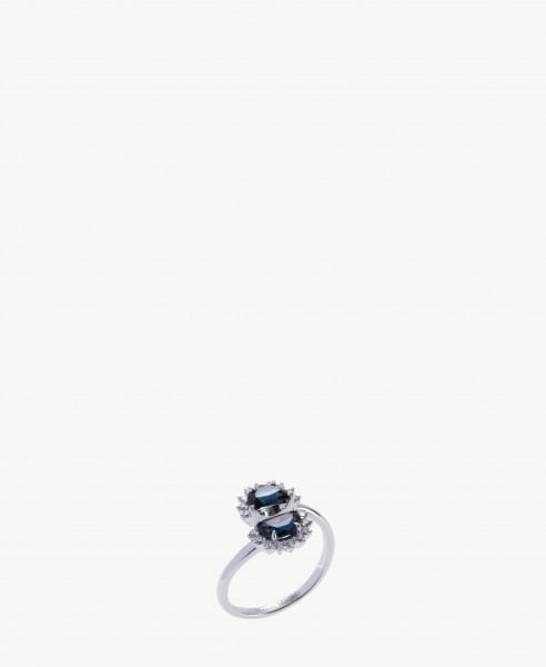 Ring 'Split Ring' 18 Kt.Weißgold