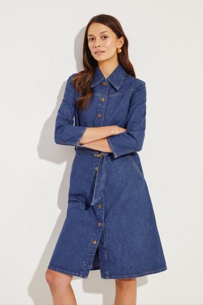 Jeanskleid 'Aria' Blau