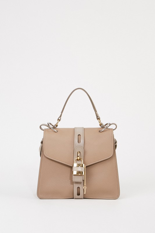Chloé Tasche 'Aby Medium' Motty Grey