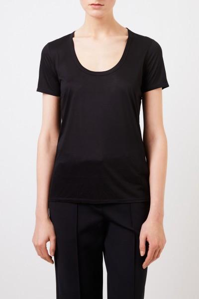 The Row Klassisches T-Shirt 'Stilton' Schwarz