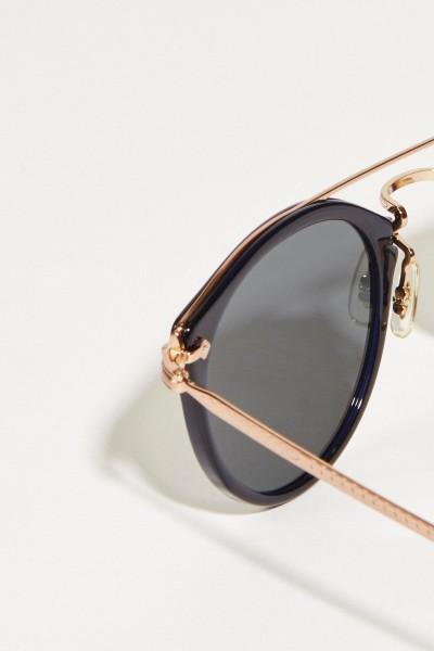 Oliver Peoples Sonnenbrille 'Remick' Schwarz
