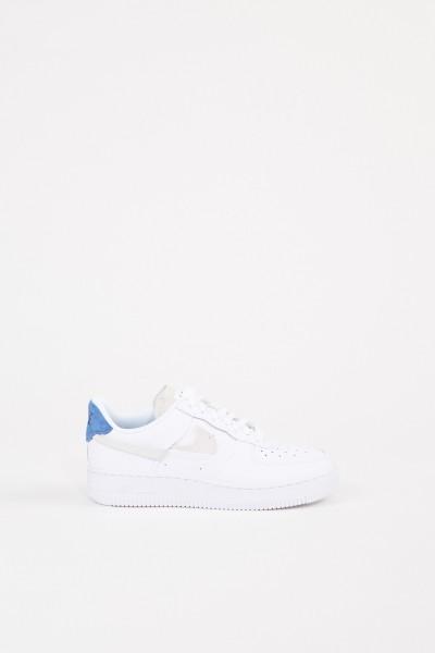Sneaker 'Air Force 1 '07 LX' Weiß/Blau/Orange