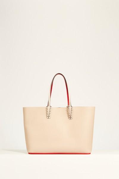 Shopper with rivet details 'Cabata' Rosé
