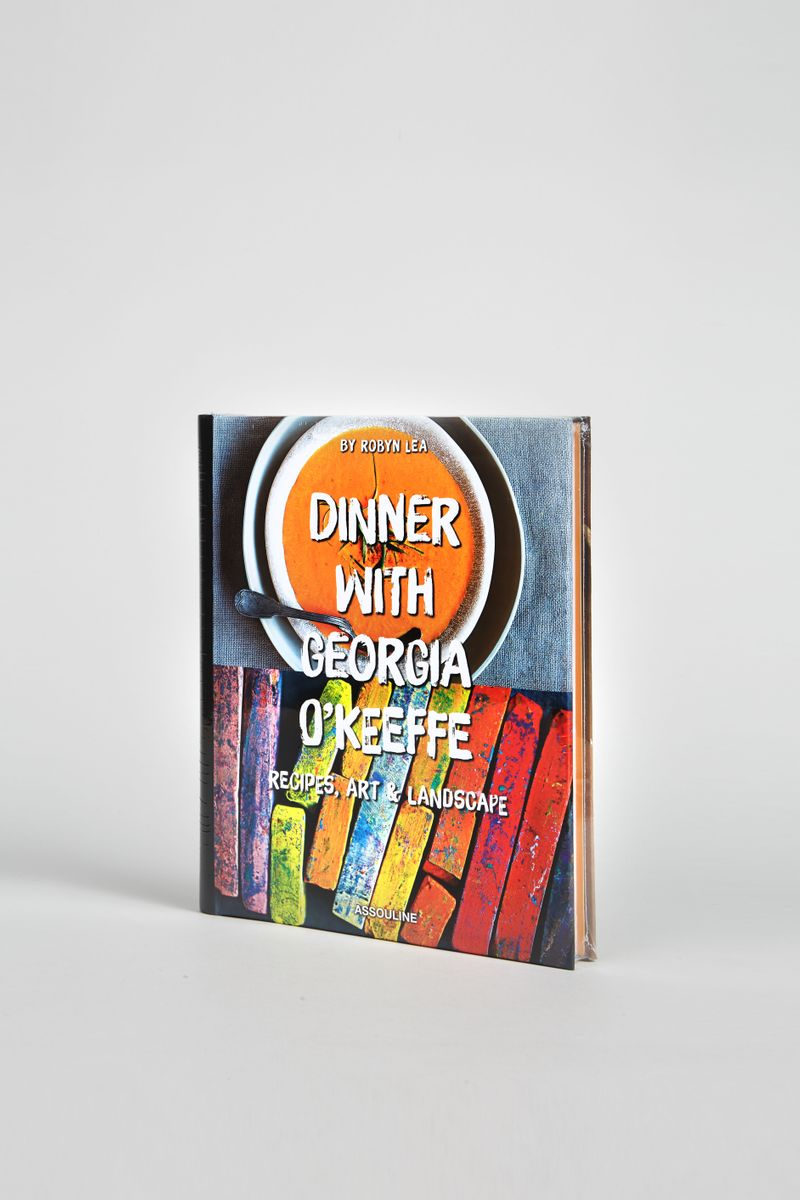 Assouline Kochbuch 'Dinner with Georgia O`Keeffe""