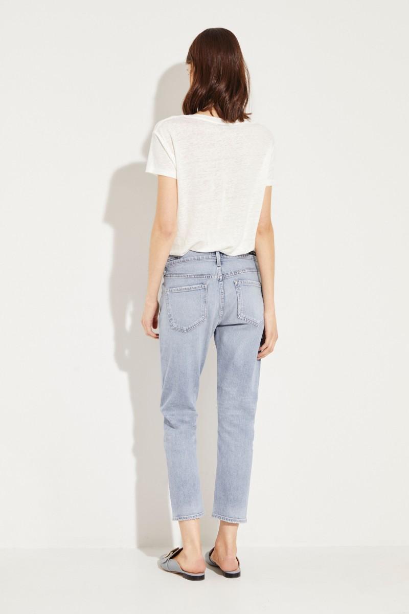 Mid-Rise Jeans 'Elsa' Blau