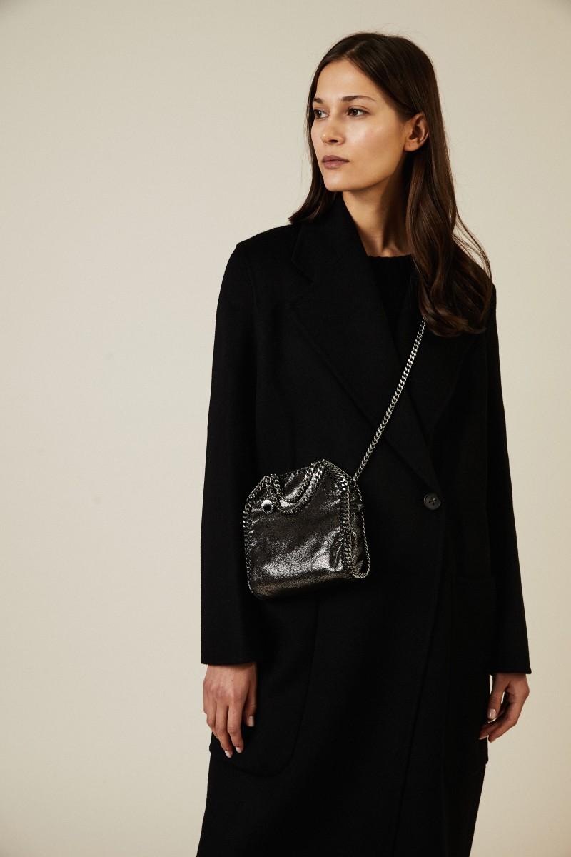 Mini-Tasche 'Tiny Bella Shiny' Grau