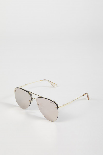 Sonnenbrille 'The Prince' Gold/Blush
