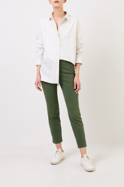 Cotton trousers 'Sabrina' Green