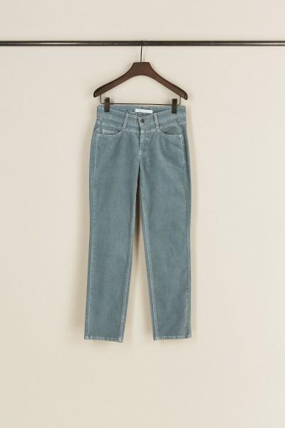 Samt-Jeans 'Posh' Hellblau