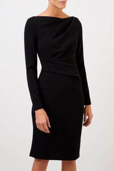 Talbot Runhof Abendkleid 'Tolga5' mit Drapierungen Schwarz