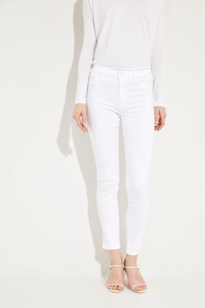 Jeans 'HW Skinny Crop' Weiß