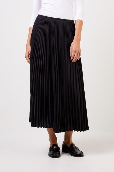 Joseph Pleated skirt Black