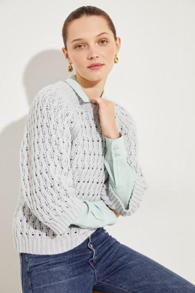 Woll-Cashmere-Pullover 'Palermo' Grau