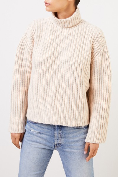 Loewe Cashmere sweater with back detail Beige