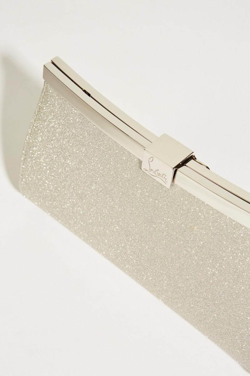 Clutch 'Palmette' Silber