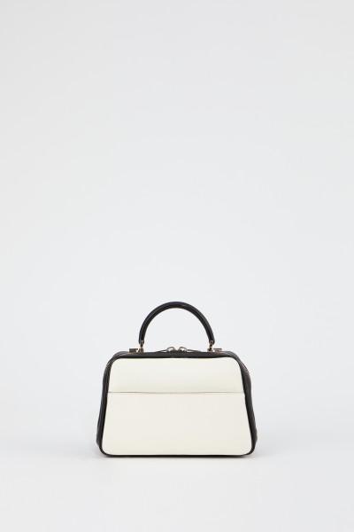 Valextra Bag 'Serie S' Medium Créme/Black