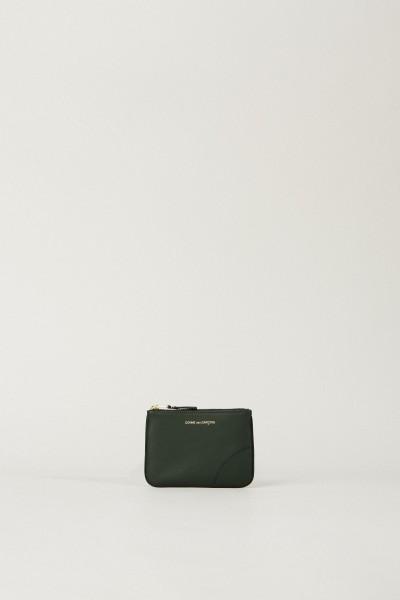 Kleines Portemonnaie Dunkelgrün