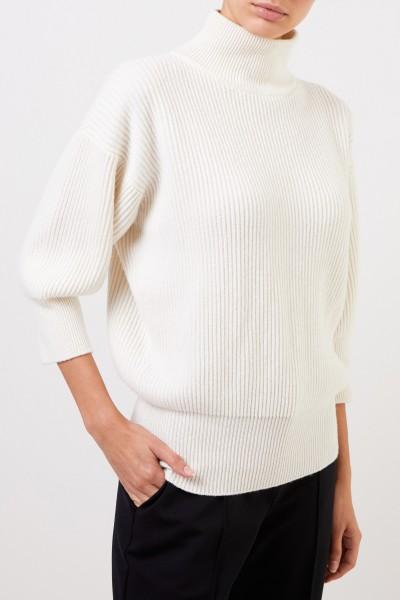 Agnona Crème Cachemire-Pullover