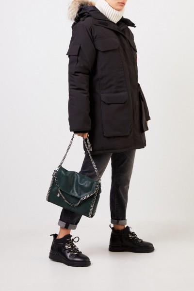 Stella McCartney Shoulder Bag 'Big Shoulder Falabella' Dark Green