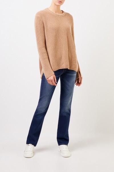 Long Cashmere-Sweater 'Santorina' Camel