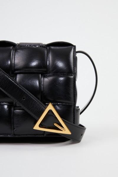 Bottega Veneta Shoulder Bag 'Cassette' Black