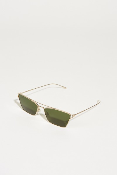 Sonnenbrille 'Evey' Gold/Grün