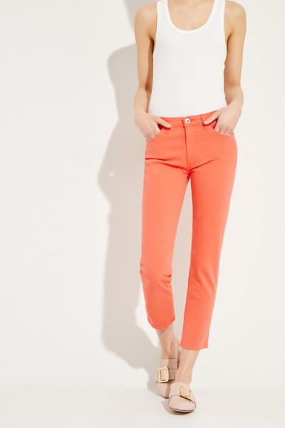 Jeans 'Prima Cropped' Koralle