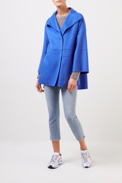 Iris von Arnim Doubleface cashmere coat 'Brice' Blue