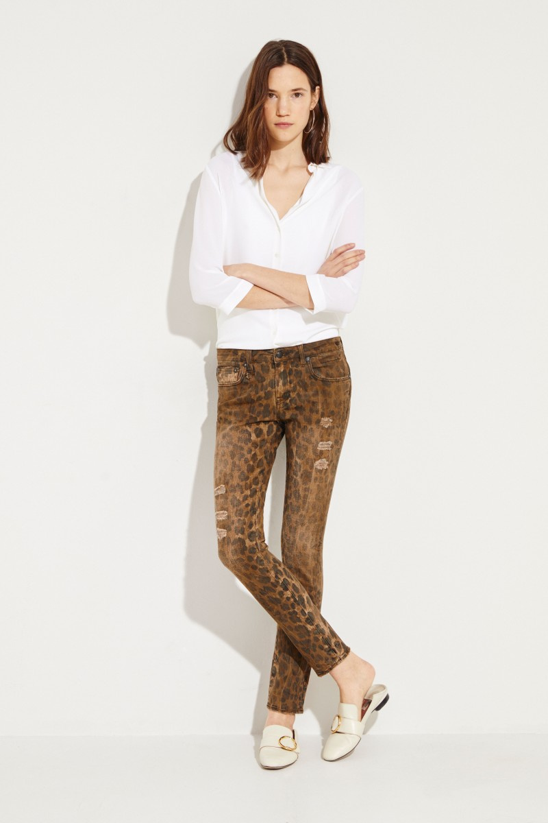 Skinny Jeans 'Kate' Leopard