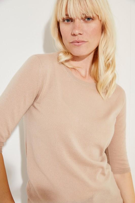 Cashmere Shirt 'Lynn' Beige