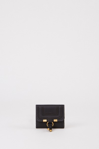 Chloé Leather wallet 'Marcie' Black